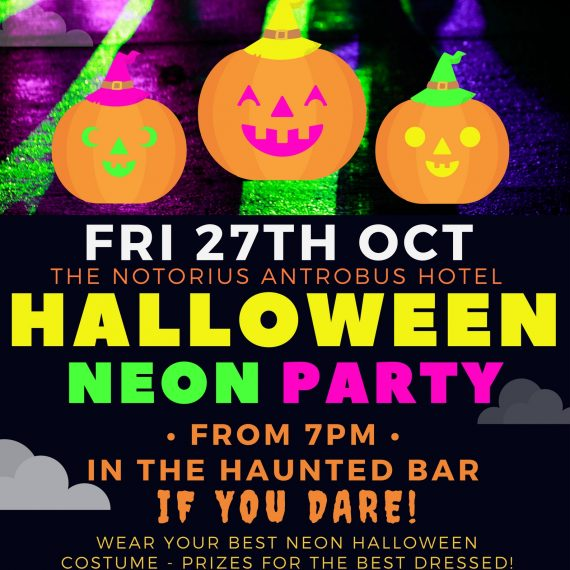 Fri 27th Oct: Halloween Neon Party